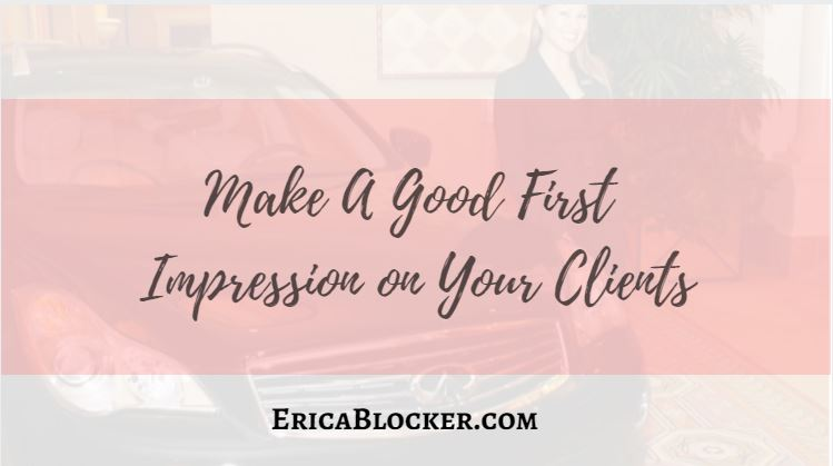 Make A Good First Impression on Your Clients