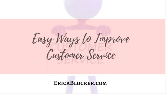 Easy Ways to Improve Customer Service