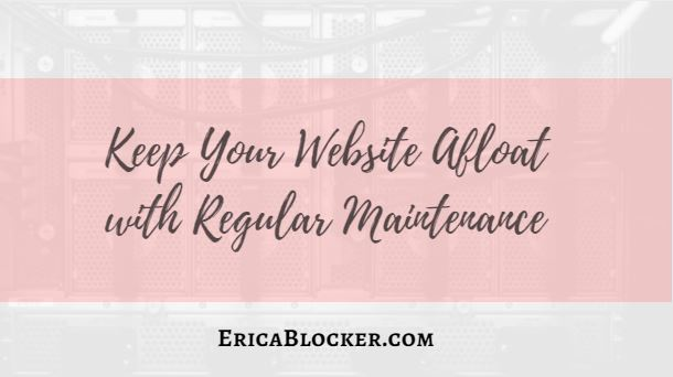 Keep Your Website Afloat with Regular Maintenance