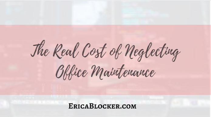 The Real Cost of Neglecting Office Maintenance