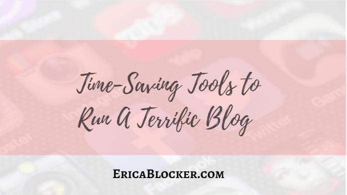 Time-Saving Tools To Run A Terrific Blog