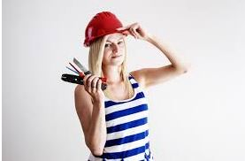 woman hard hat
